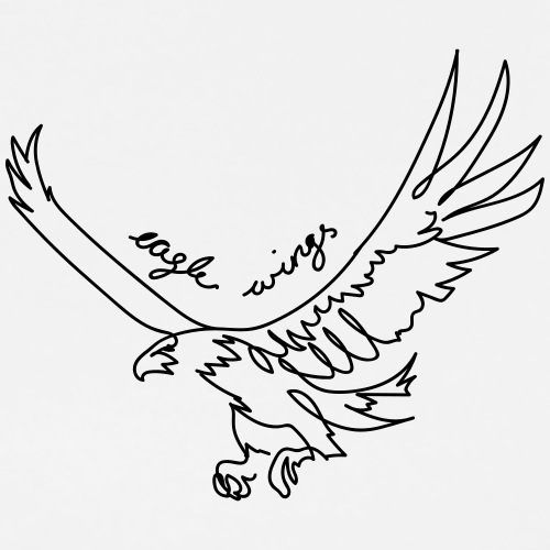 Eagle wings - Männer Premium T-Shirt