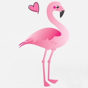 FLAMINGO - Premium T-skjorte for menn