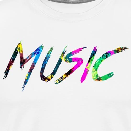 rainbow Music - Premium T-skjorte for menn