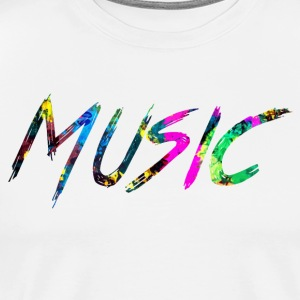 rainbow Music - Men's Premium T-Shirt