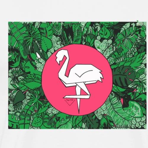 Flamingo * Rogue Wild - Men's Premium T-Shirt