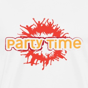 PARTY TIME - Premium-T-shirt herr