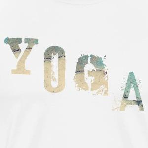 yoga stylist - Mannen Premium T-shirt