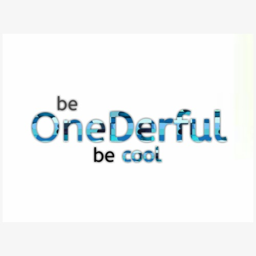 Be OneDerful be cool - Maglietta Premium da uomo