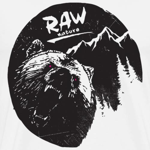 RAW NATURE Circle Ed. - Männer Premium T-Shirt