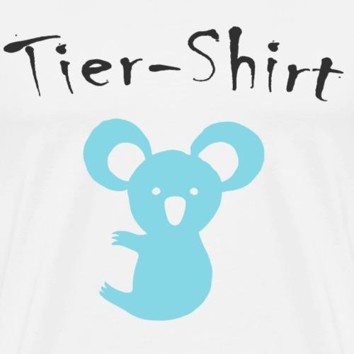 Koala Tier Shirt - Männer Premium T-Shirt