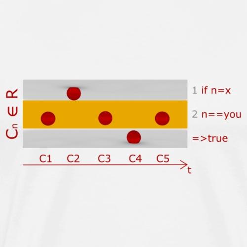 сознание I // consciousness I - Men's Premium T-Shirt