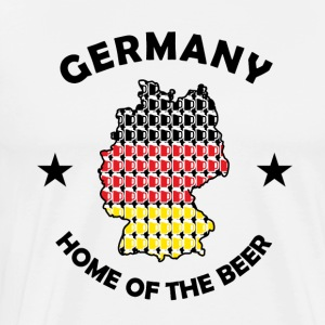 Home of the Beer - Premium T-skjorte for menn