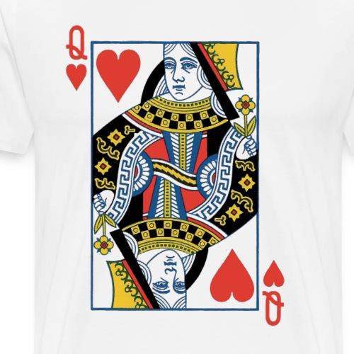 Dame de Cœur - T-shirt Premium Homme