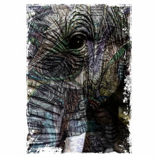 motif elephant - T-shirt Premium Homme
