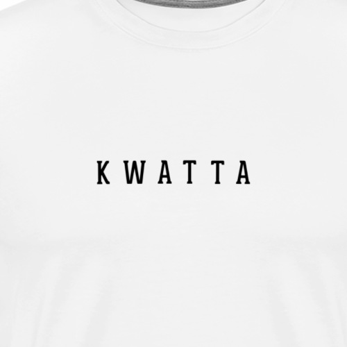 kwatta - Mannen Premium T-shirt