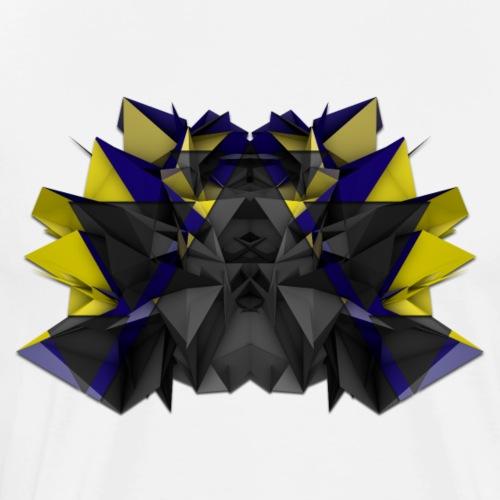 3D Abstract - The Centipede - Men's Premium T-Shirt