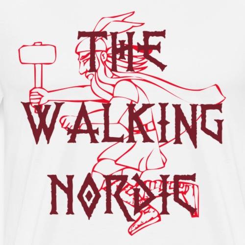 The Walking Nordic - Männer Premium T-Shirt