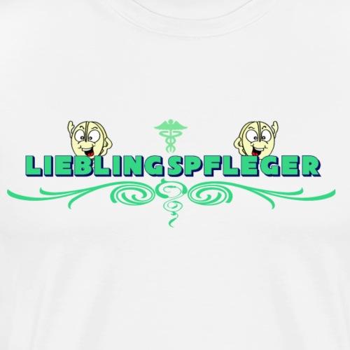 Lieblingspfleger - Männer Premium T-Shirt