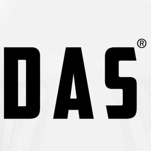 DAS - Mannen Premium T-shirt