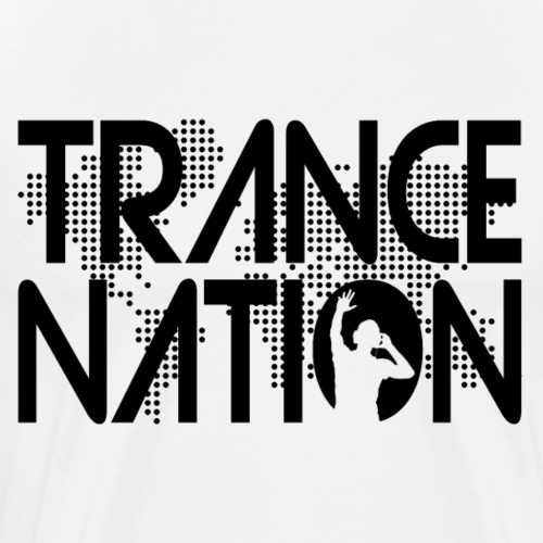 Trance Nation (Black) - Premium-T-shirt herr