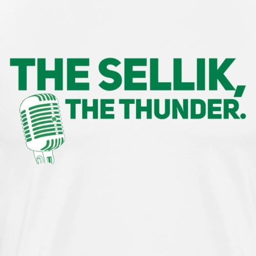 The Sellik, The Thunder. - Men's Premium T-Shirt