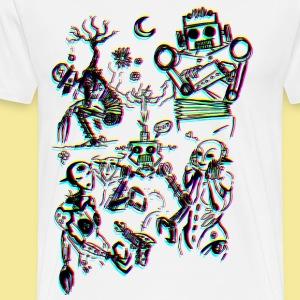 DandyBot - T-shirt Premium Homme