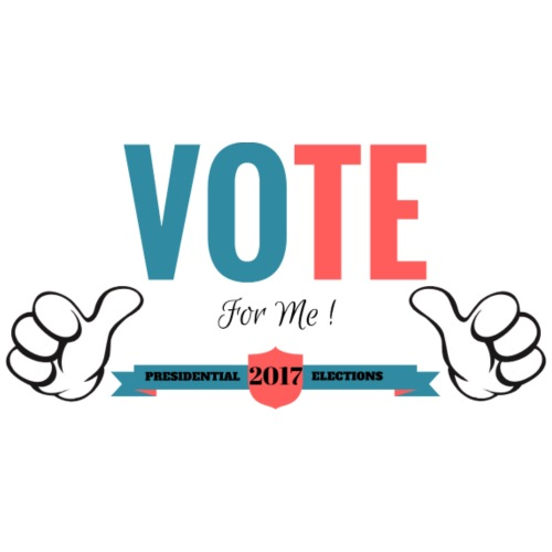 Vote for me 2017 - T-shirt Premium Homme