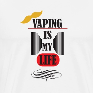 vaping is my life 3 - Men's Premium T-Shirt