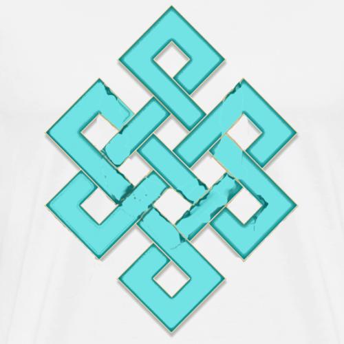INFINITY MANDALA SPIRIT LIEBE UNENDLICHKEIT - Männer Premium T-Shirt