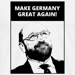Make Germany Great Again | God - Chancellor | Fun - Men's Premium T-Shirt