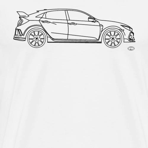 Civic Type R 2017 - Männer Premium T-Shirt