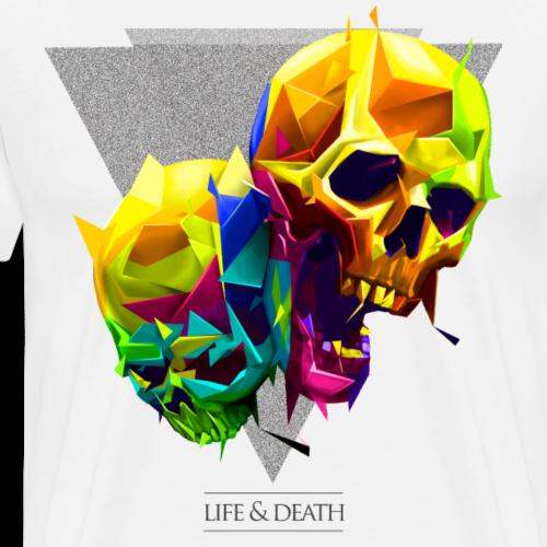 skulls - Camiseta premium hombre