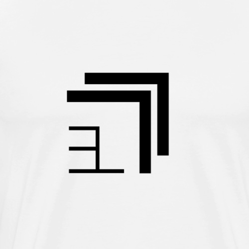 Edgelord Logo (black) - Männer Premium T-Shirt