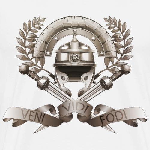 Légios - Veni Vidi Fodi - Texturé - T-shirt Premium Homme