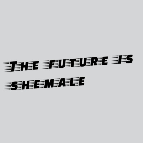 Shemale Future - Men's Premium T-Shirt