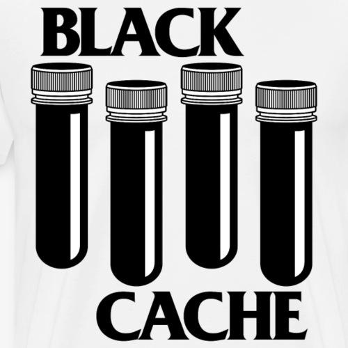 Black Cache x - Männer Premium T-Shirt
