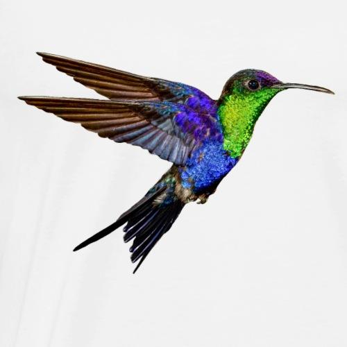 Kolibri im Flug - Männer Premium T-Shirt