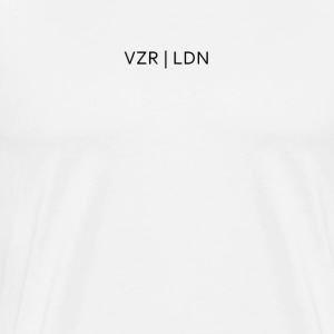 VZR Logo T-Shirt // White - Men's Premium T-Shirt