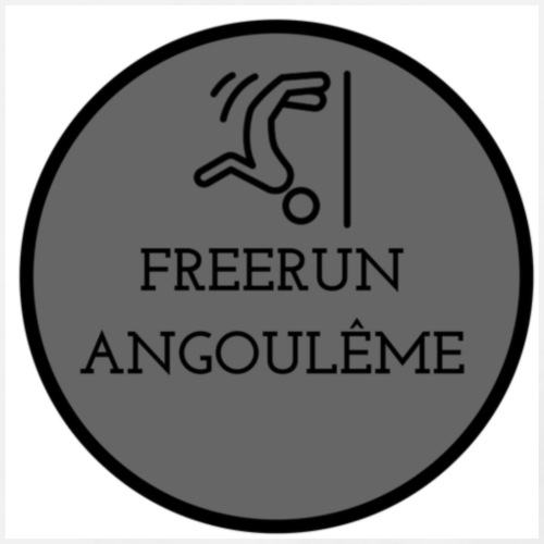 FREERUN ANGOULE LOGO - T-shirt Premium Homme