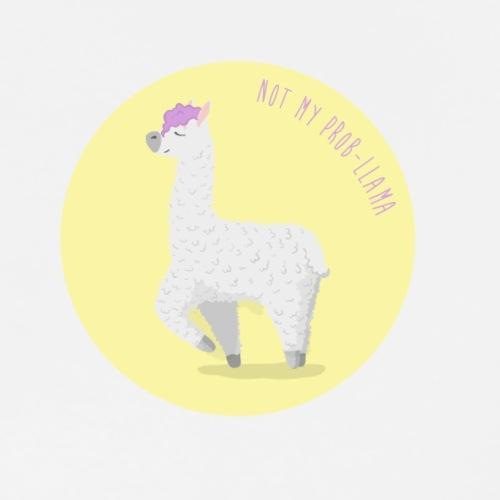 Not my prob-llama - Men's Premium T-Shirt