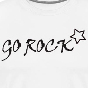 Go Rock Black - T-shirt Premium Homme