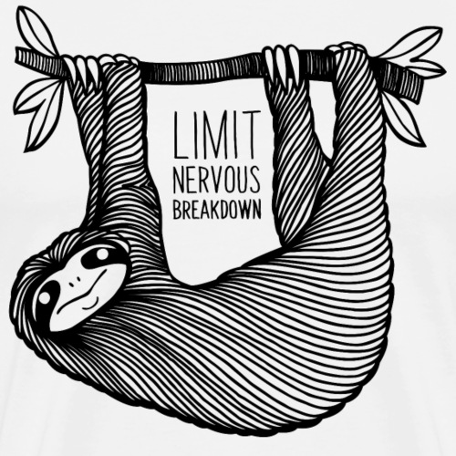 Le paresseux, animal, limit nervous breakdown