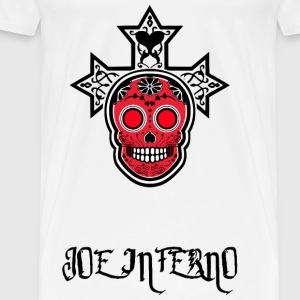Joe inferno - Premium-T-shirt herr