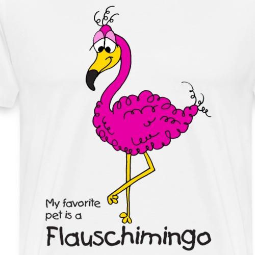 My favorite pet is a Flauschimingo - Männer Premium T-Shirt