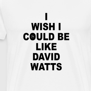 DAVID WATTS - T-shirt Premium Homme