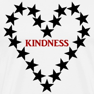 KINDNESS BLACKSTARS - Männer Premium T-Shirt