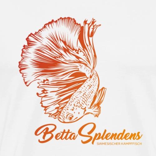 Betta Splendens - Siamesicher Kampffisch - Männer Premium T-Shirt
