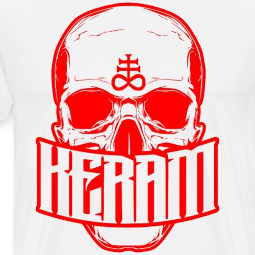 Keram Skull Logo - Männer Premium T-Shirt