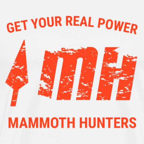 Mammoth Hunters / Naranja - Camiseta premium hombre