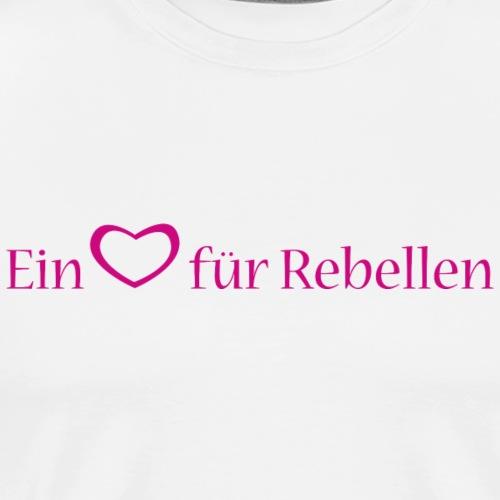 Kopffuessler Rebellen lang - Männer Premium T-Shirt