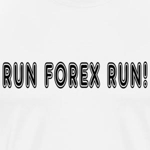 Run Forex - Men's Premium T-Shirt