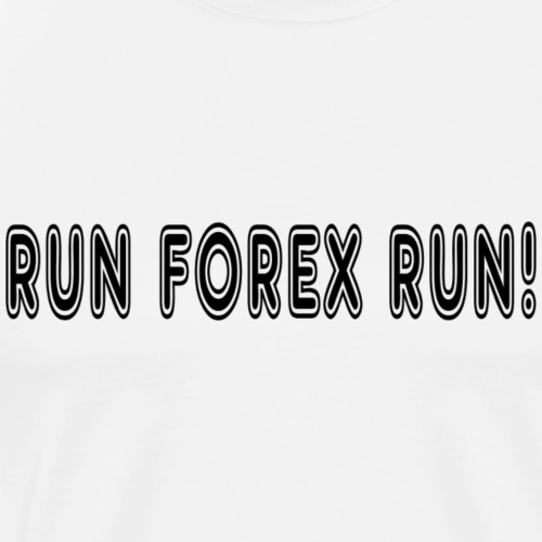Run Forex - Men's Premium T-Shirt