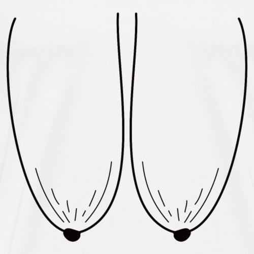 Granny breasts T-shirt - Men's Premium T-Shirt