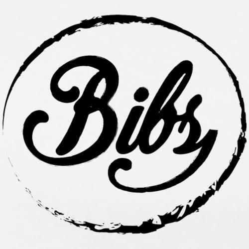 Bibs Logo Noir - T-shirt Premium Homme